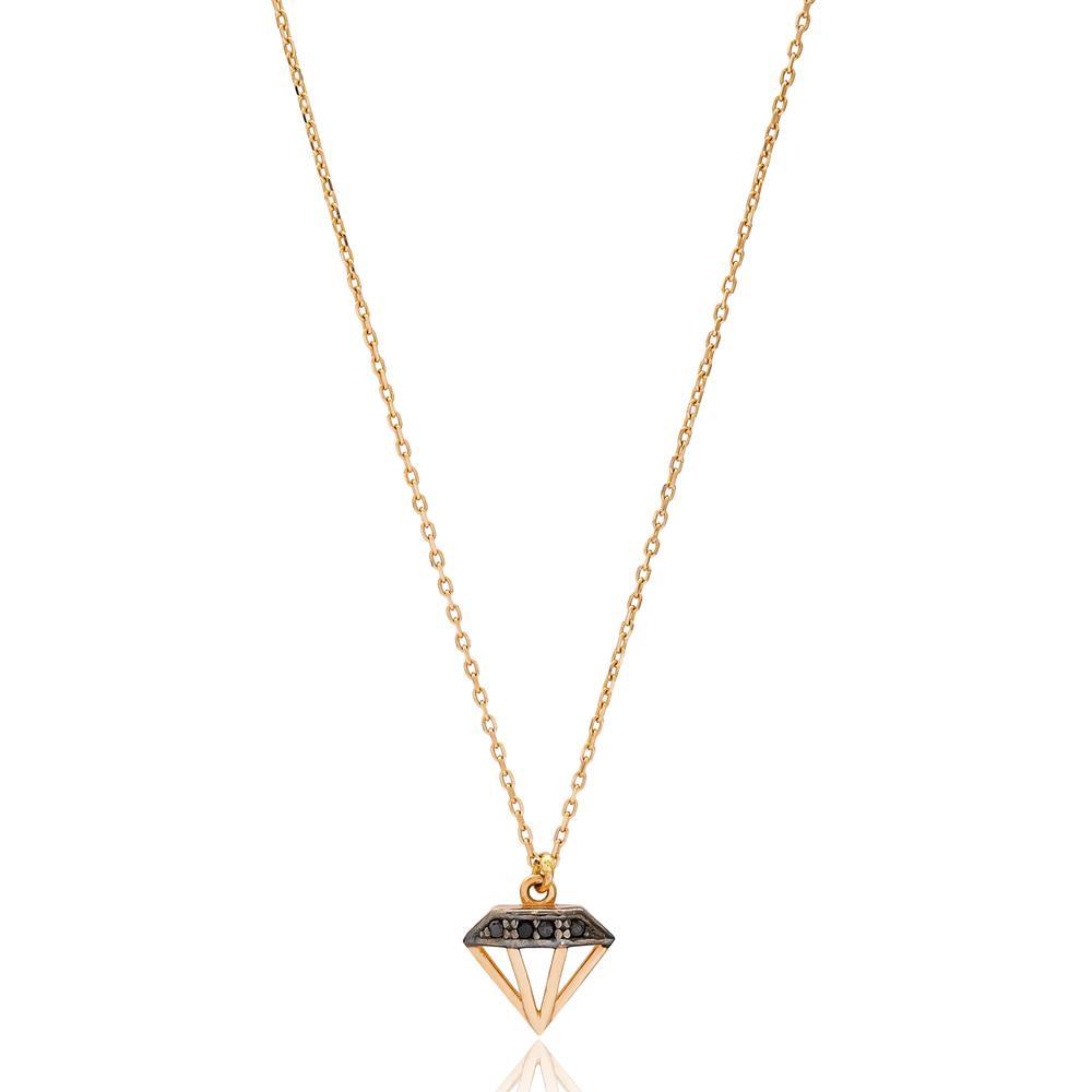 Brilliant Shape Wholesale Turkish 14k Gold Necklace