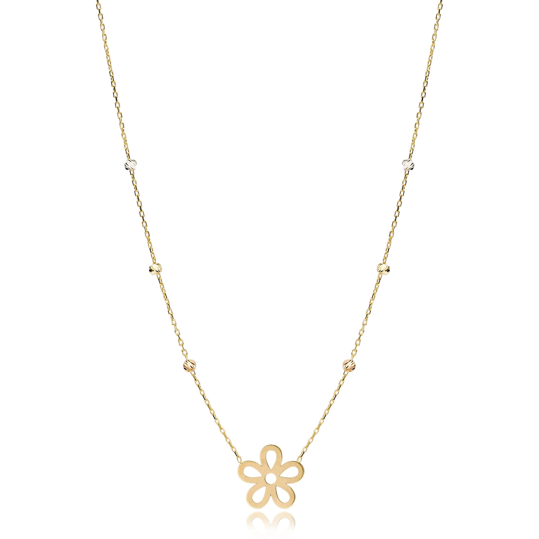 Blossom Charm Necklace Wholesale Handmade Turkish 14K Jewelry