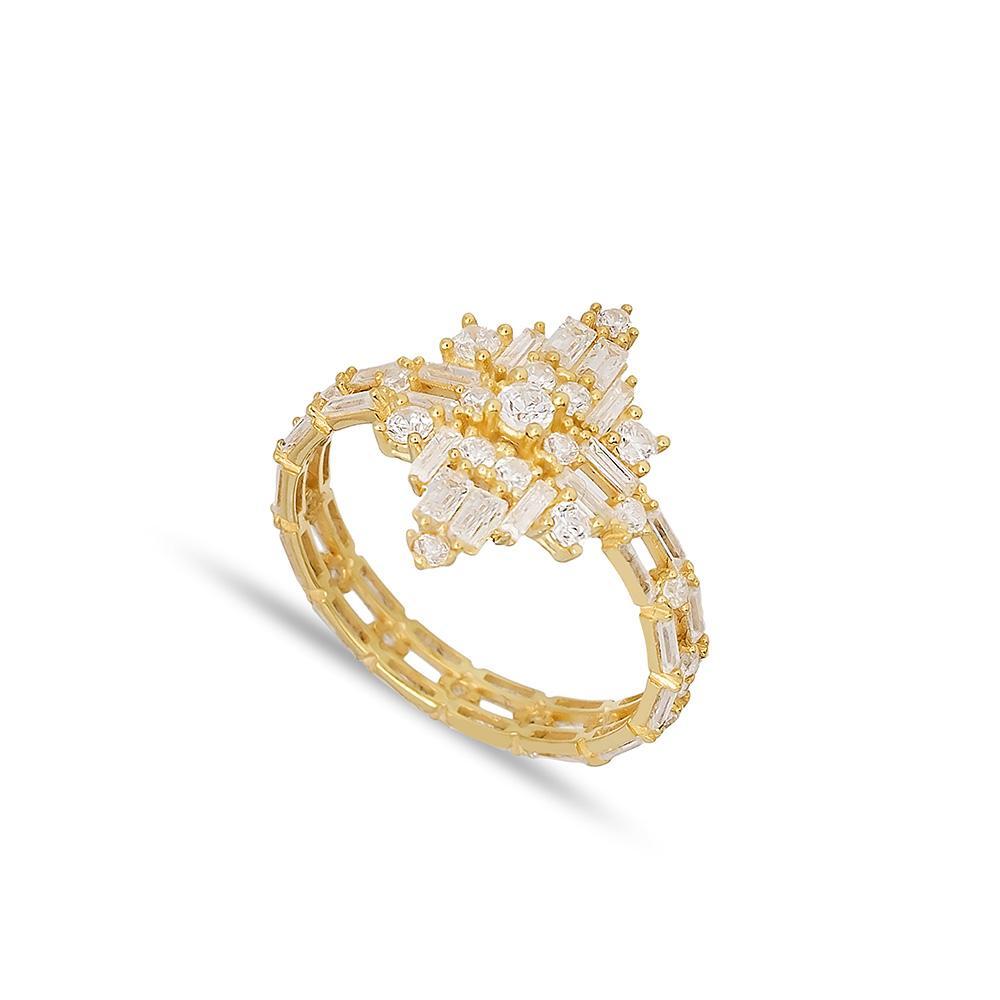 Gold Ring 14 k Wholesale Handmade Turkish Gold Jewelry