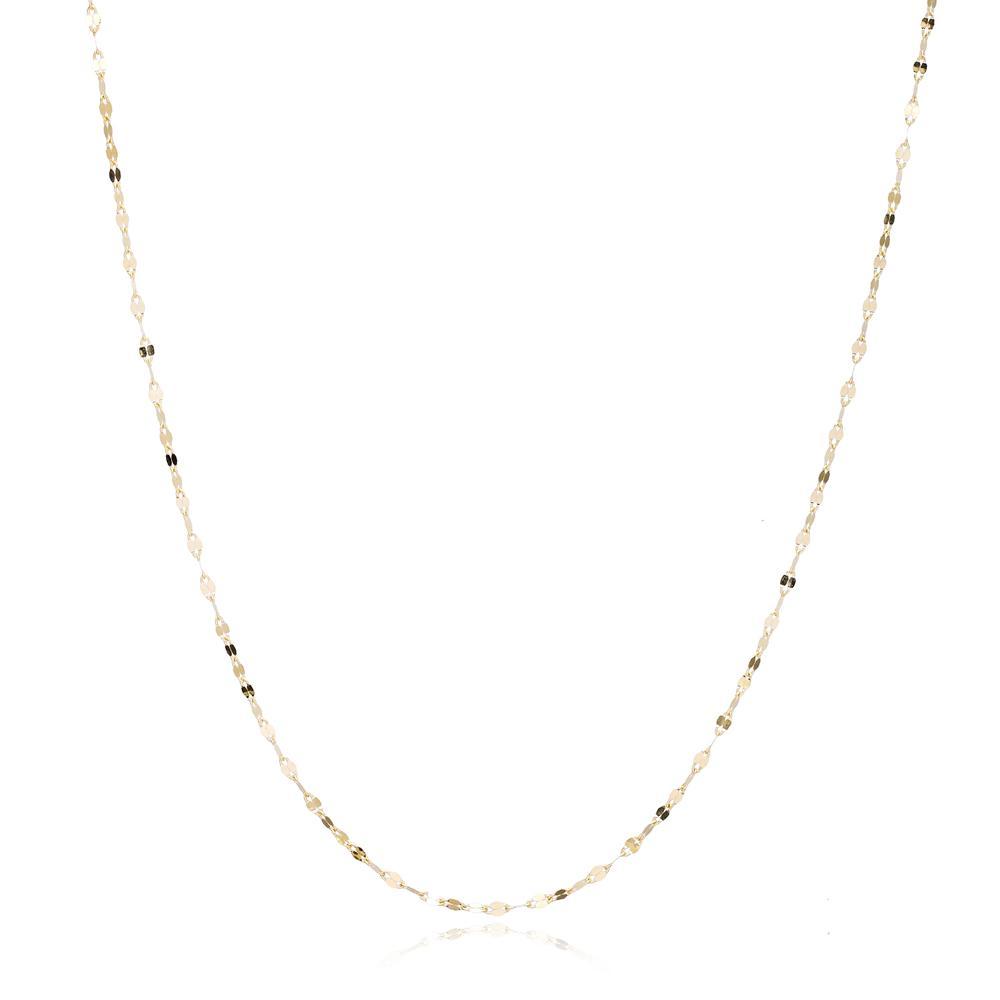 14K Gold Decorative Chain Wholesale Turkish Jewelry