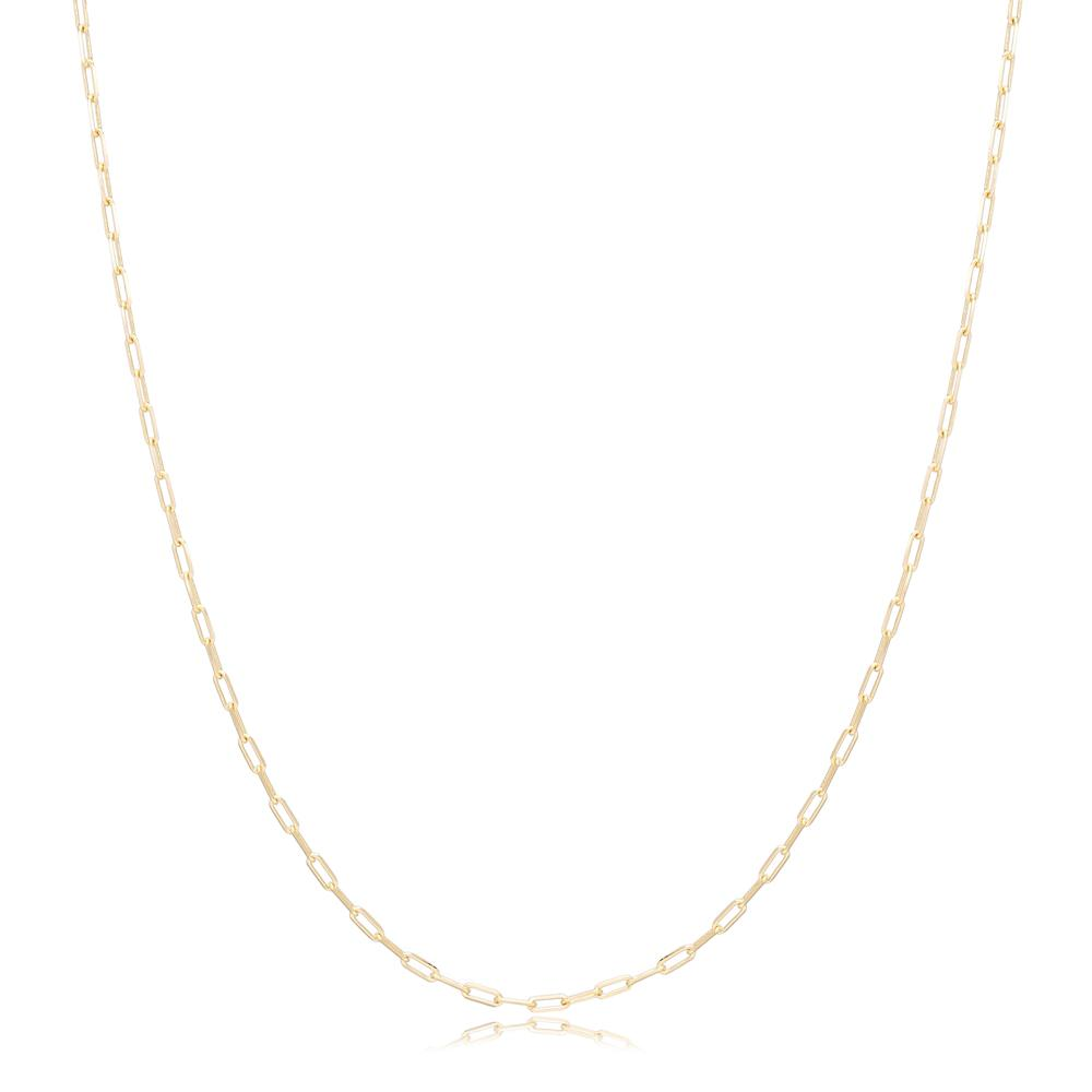 14K Gold Link Chain Wholesale Turkish Jewelry